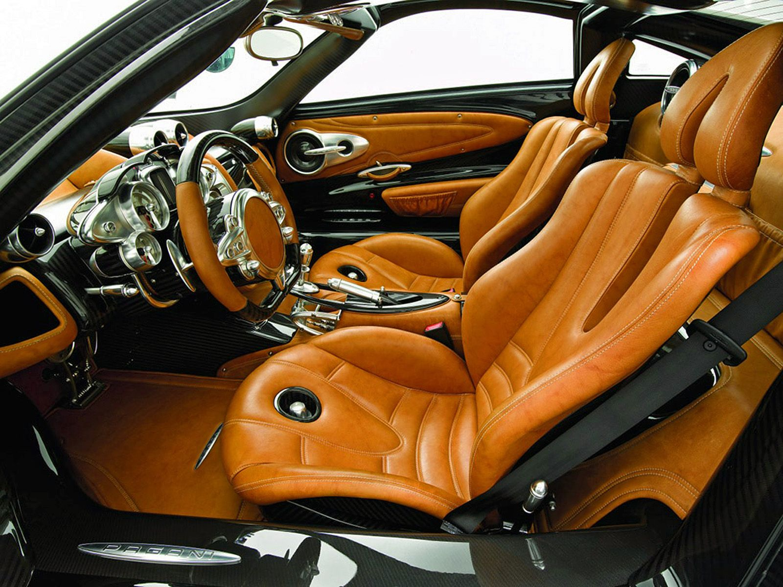 New Custom Interior Car Designs With Cab Supercar Pagani Huayra