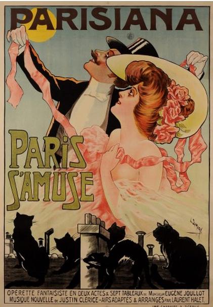 by l damar 1927 1905 parisiana paris s 39 amuse. Black Bedroom Furniture Sets. Home Design Ideas