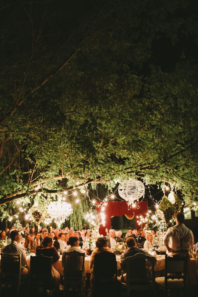 Romantic  Outsdide Wedding Lighting Pinned By High Billinghurst Farm Wedding Venue