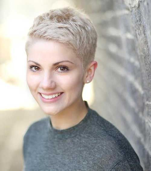 Image result for very short blonde hair pixie cut 2016