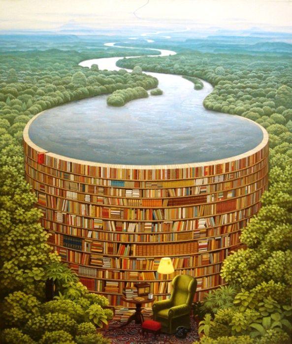 Сюрреализм. Всемирная библиотека. Jacek Yerka.