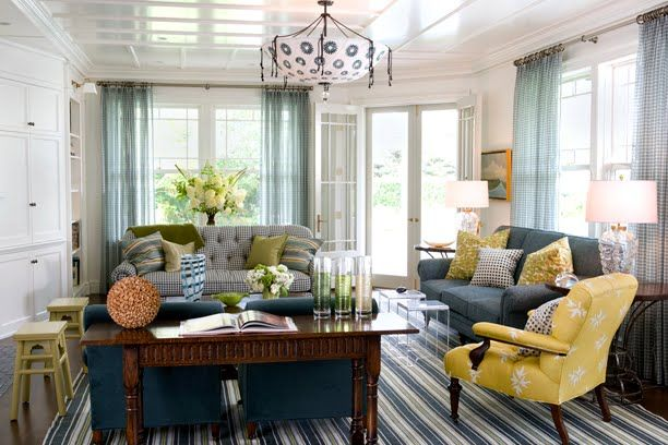 Grey Brown Blue Yellow Living Room Conceptstructuresllccom