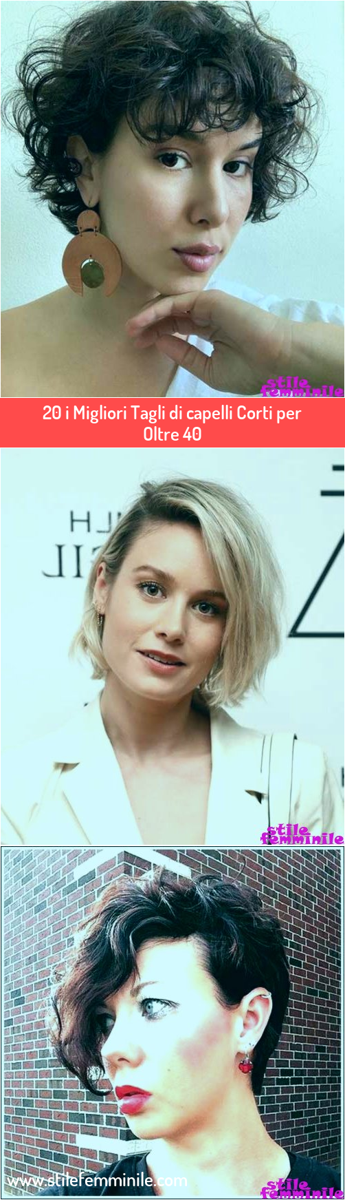Photo of 20 i Migliori Tagli di capelli Corti per Oltre 40