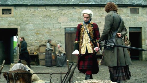 Outlander 2x10: Bonny Prince Charlie's Tartan Suit. see: Prince Charles Edward Stuart by William Mosman, about 1750. National Galleries Scotland.