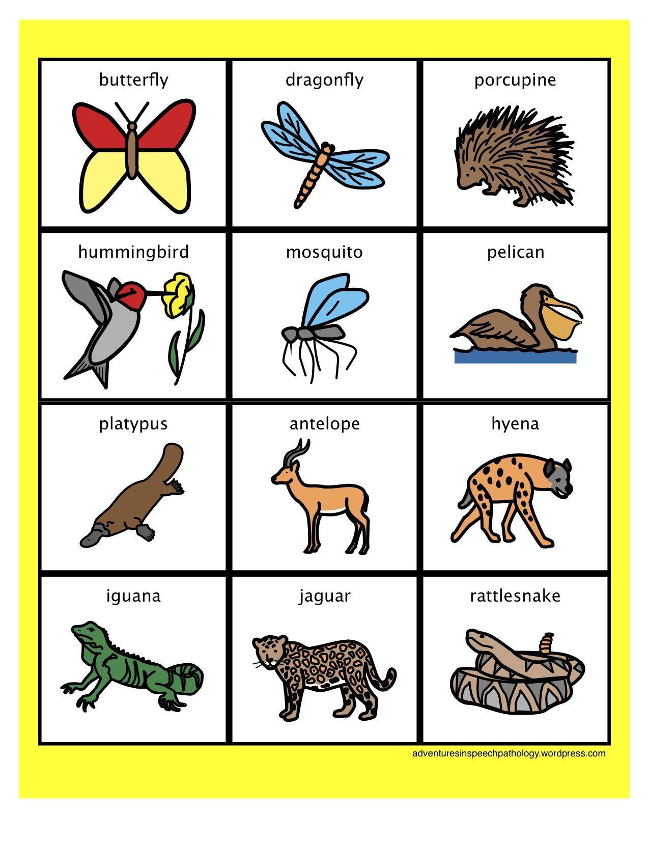 Multisyllablic Words To Practice Phonological Awareness