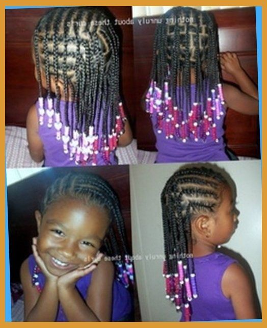 Little Girl Braiding Hairstyles Within African American