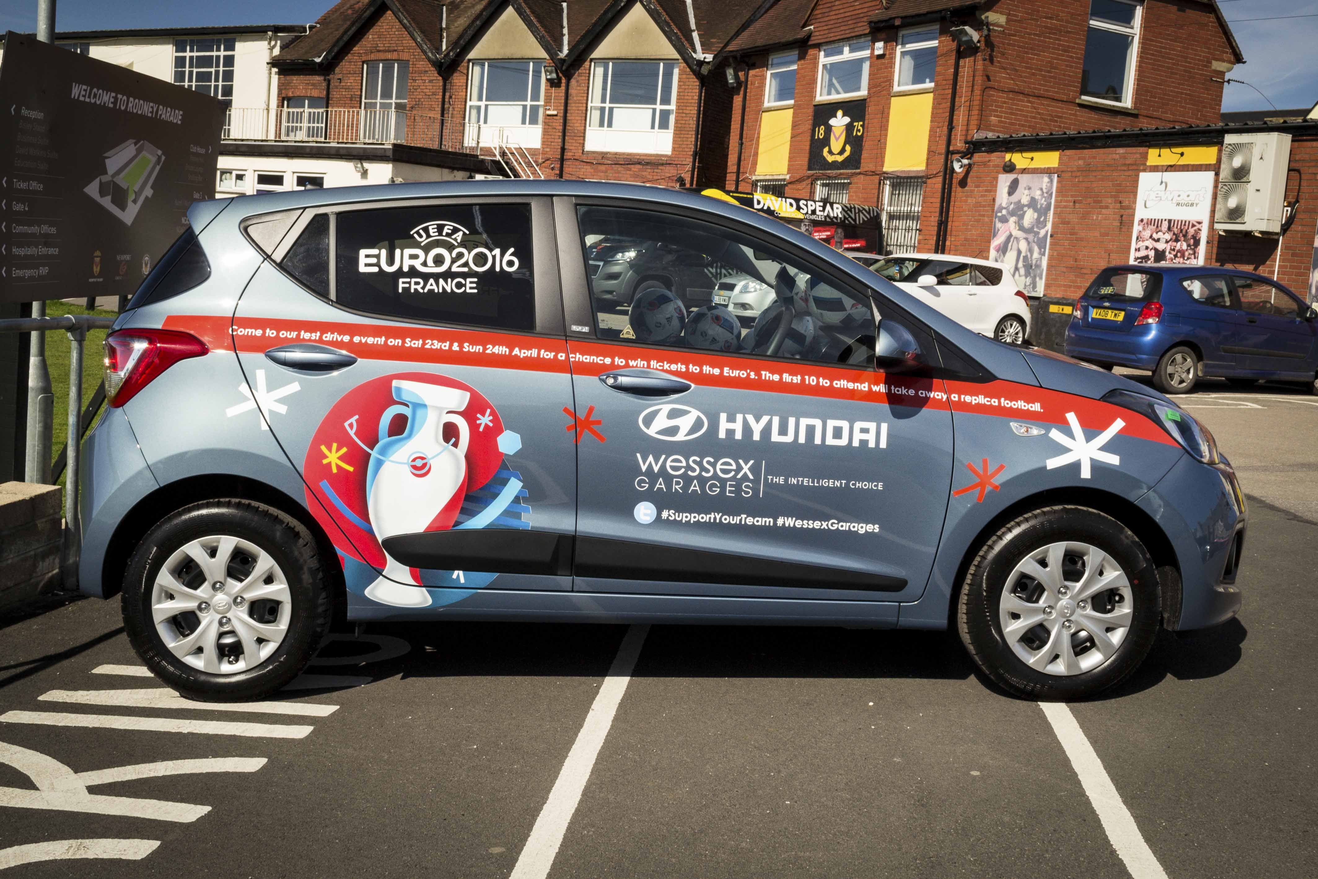 Did you see our limited edition Euro2016 Hyundai i10Go