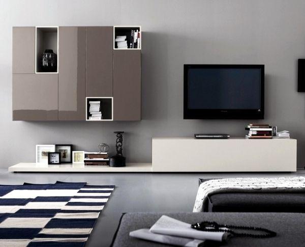 contemporary wall units - call diversity through modular concepts, Möbel