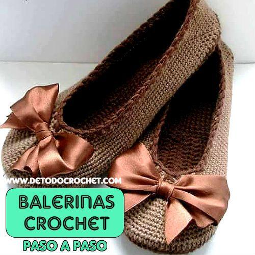 Todo crochet | Pinterest | Cómo tejer, Zapatillas y Zapatos tejidos