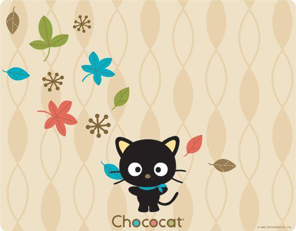 Chococat Autumn Leaves Skin It 14 99 Cartoon Characters Hello