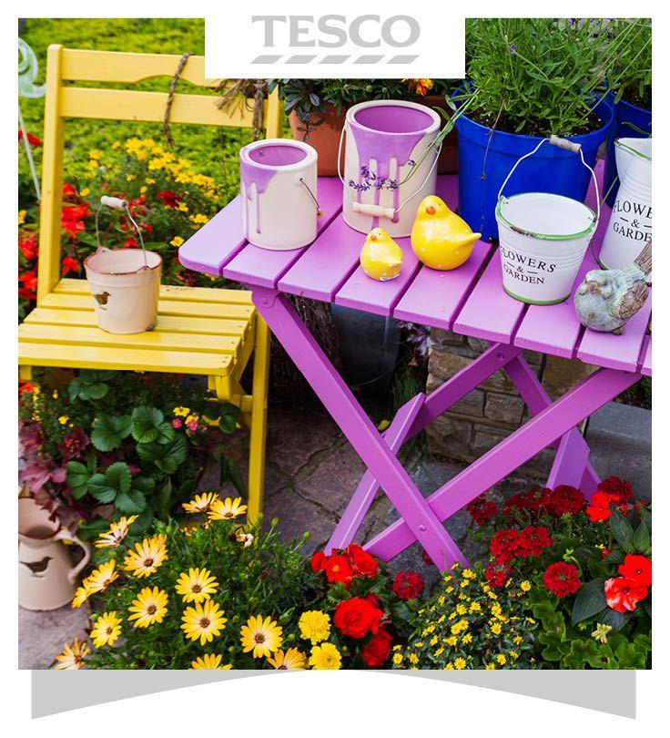 Tesco Wooden Garden Table Garden Table And Chairs Garden Table