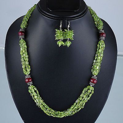Selene-Gems-Finest-Quality-Untreated-Natural-Peridot-Ruby-Designer-Necklace
