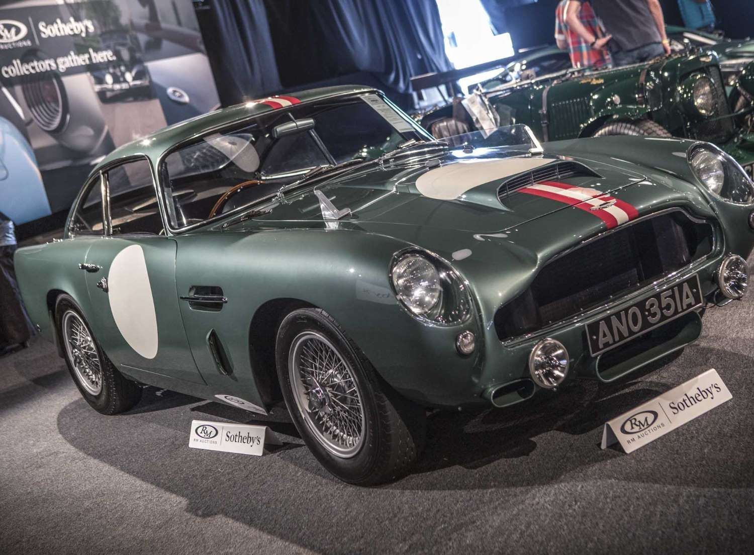 selling price: $6,765,000auction: rm sotheby's montereyeven before