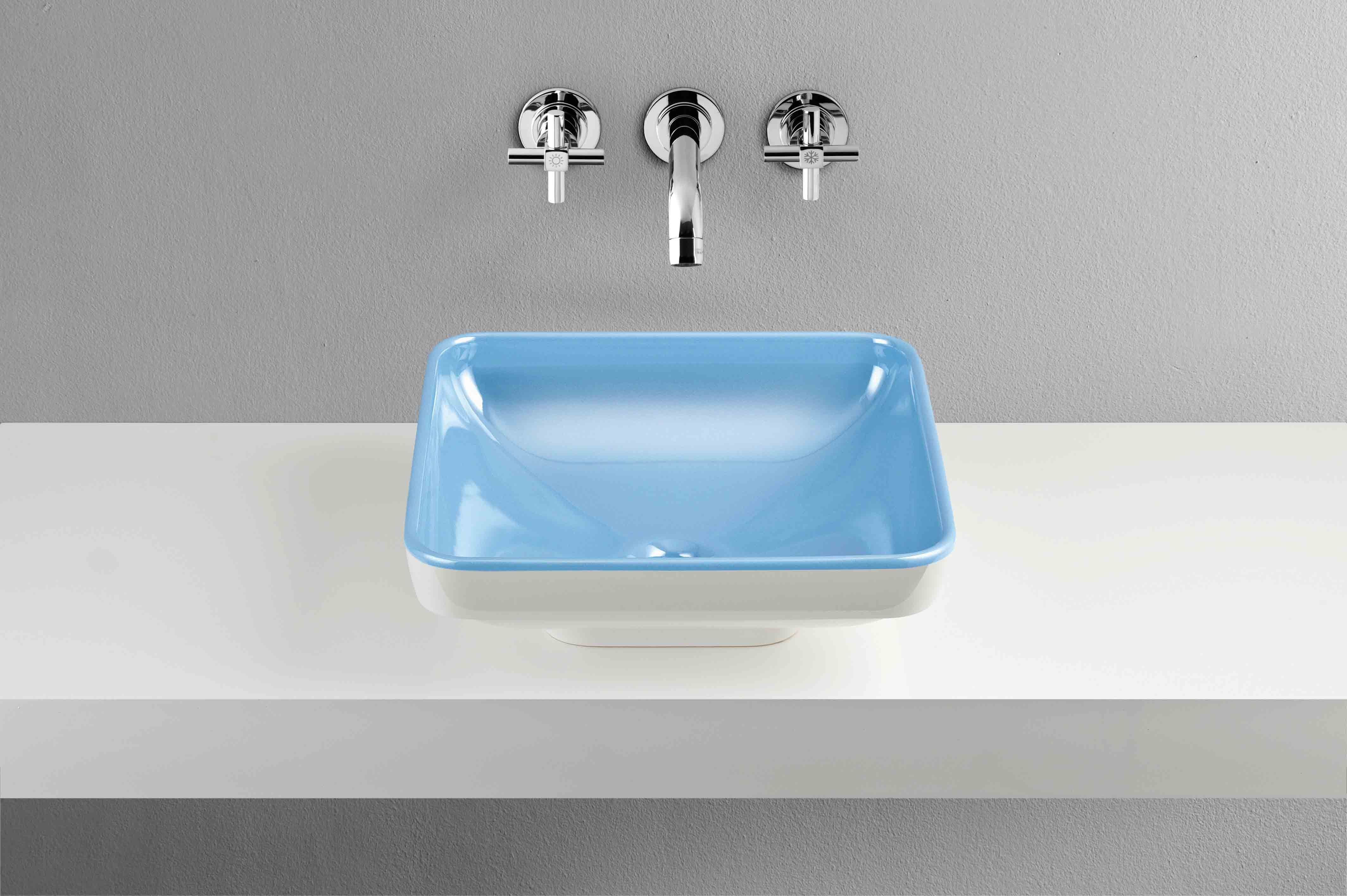 Designer Kitchen And Bathroom Square Water Jewels Basin Designed By Matteo Thun For Vitra Vitra