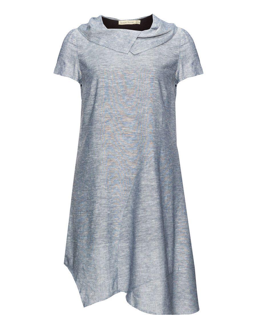 ISOLDE ROTH   Asymmetric dress   navabi   Kleider in großen