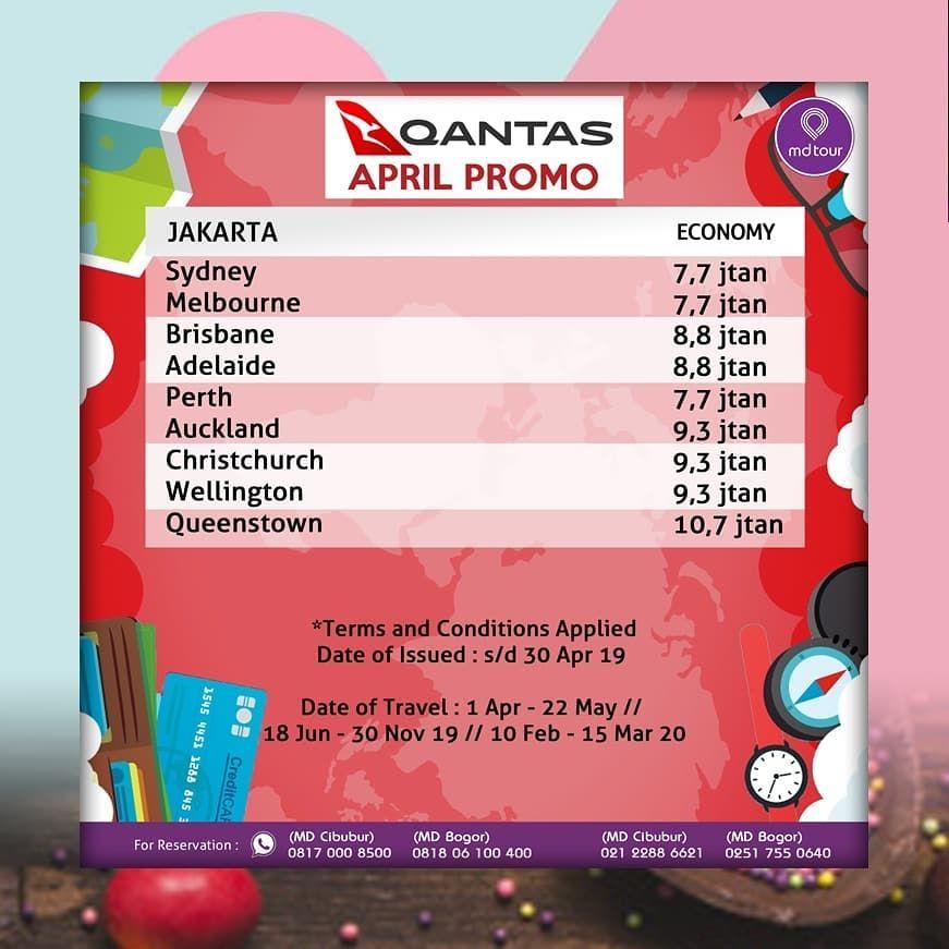 April Promo By Qf Hello Travelers Ayo Jalan2 Ke Australia