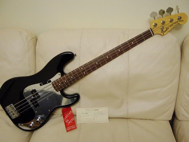 Fender Jazz Bass - Phil Lynott | Thin Lizzy | Fender