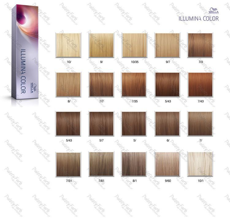 Rose gold formula wella illumina color colour chart haircolor hair coloring also professionals shades palette rh pinterest