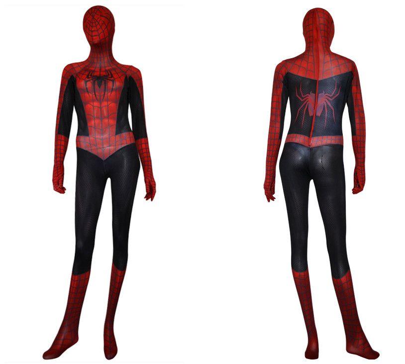 Amazing Spdiermand Full Body Spiderman Costume