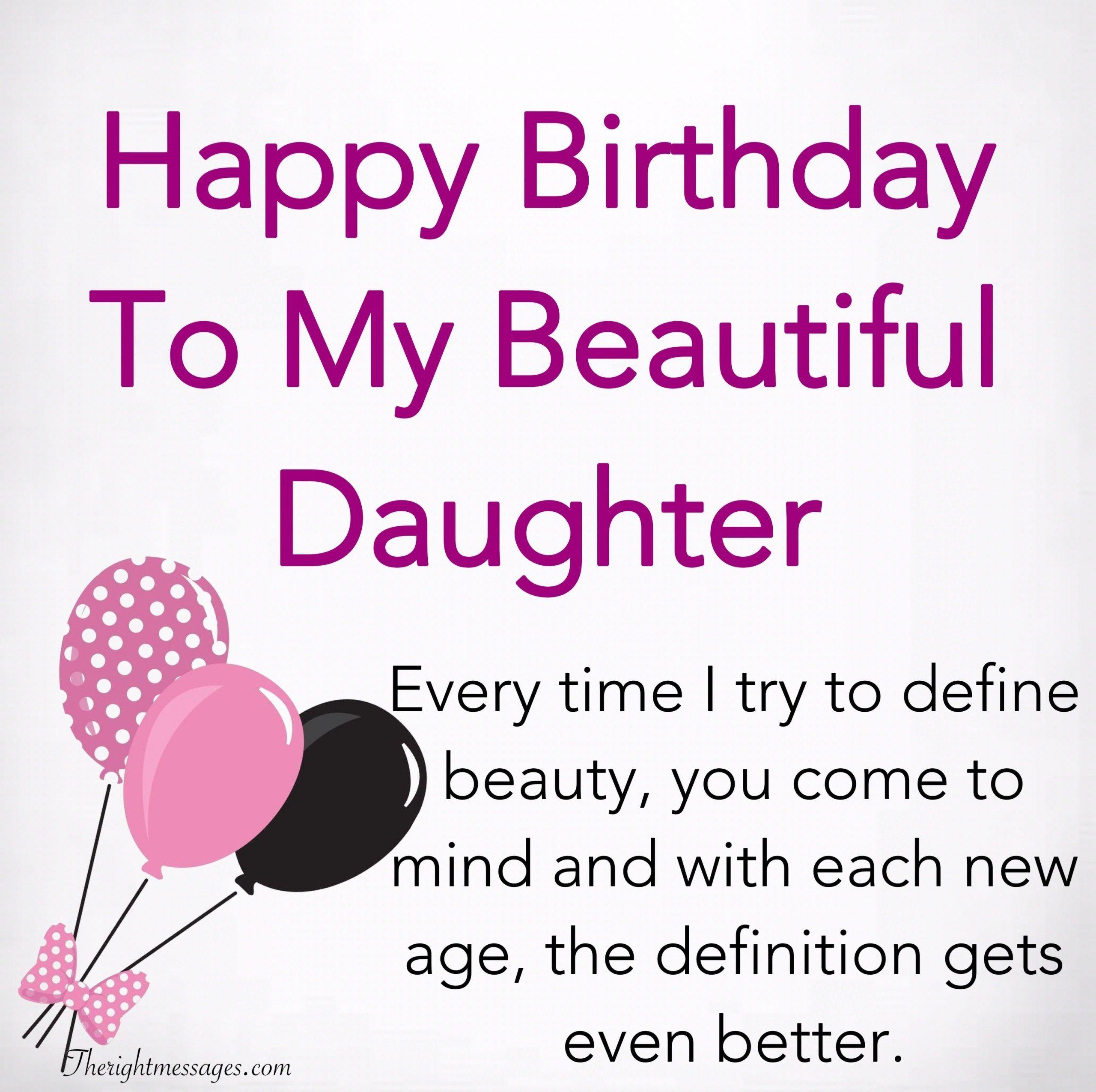Happy Birthday To My Daughter Regarding Trending This Year In 2020