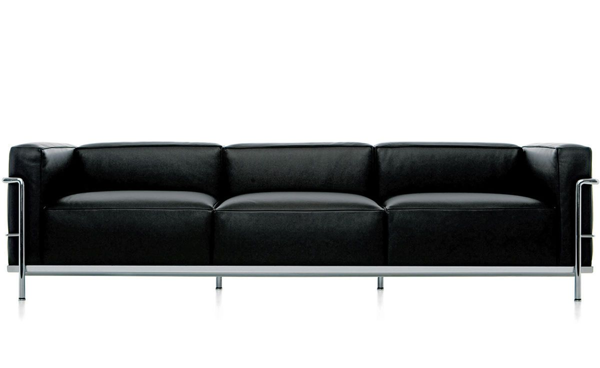 Le Corbusier Sofas In 2020 Le Corbusier Sofa Three Seat Sofa Sofa Design