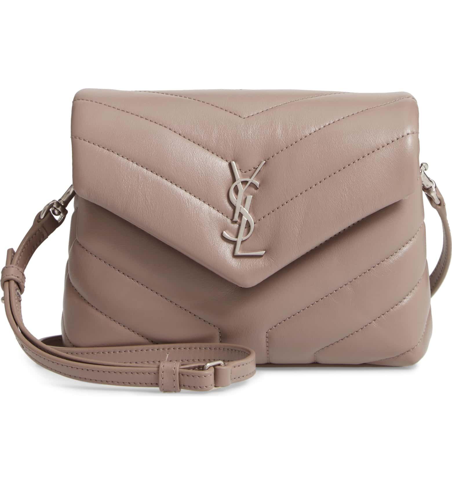 Italian Calf Skin Leather Handbag Cross Body Bag Structured Designer Bag