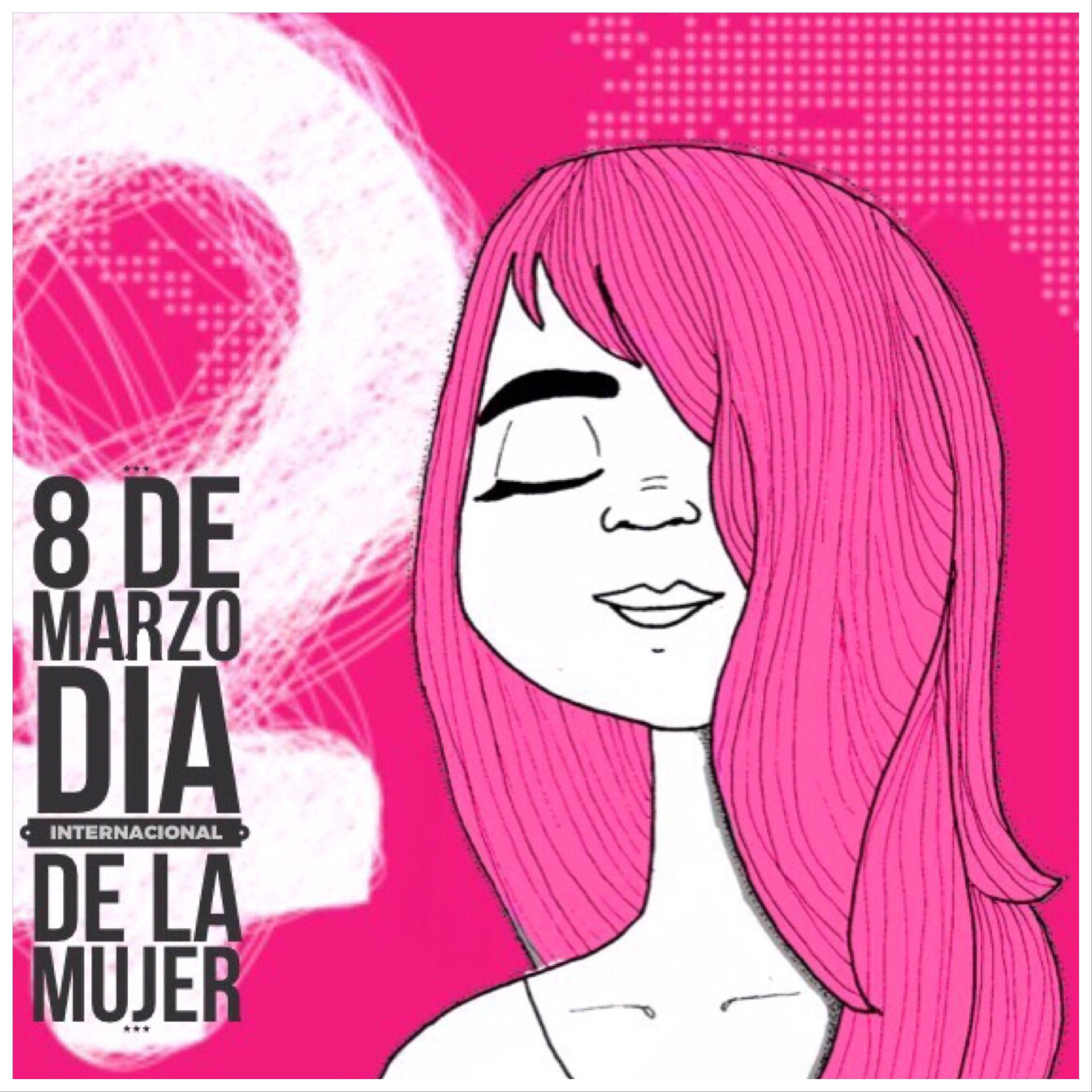 4 8 De Marzo Dia De La Mujer Rosa Dia De La Mujer 8 De Marzo Dia Internacional De La Mujer