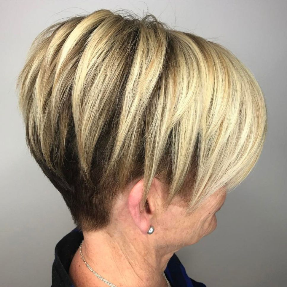 Short hairstyles for women over u simple and noble short hair