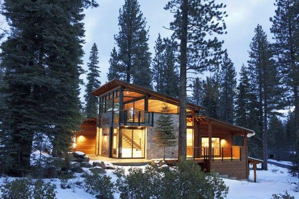 Mountain retreat home plans