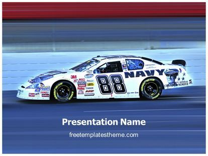 download free nascar racing powerpoint template for your