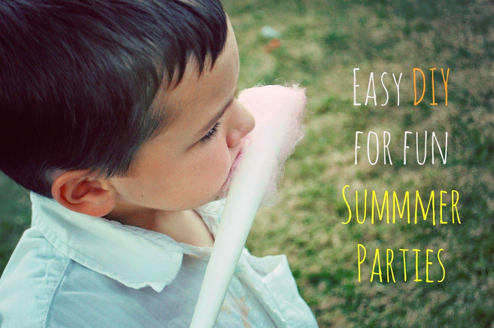 EASY ways to make any summer gathering fun! Toad's Treasures DIY