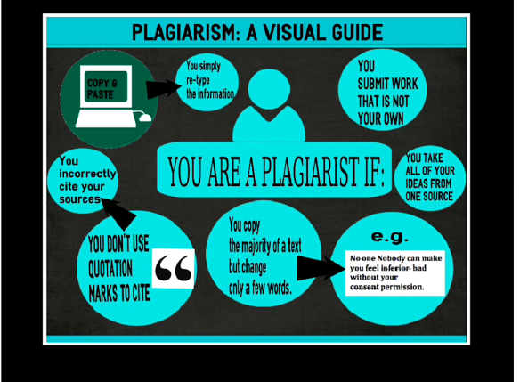 A Picture is Worth a 1000 Words PLAGIARISM INFOGRAPHICS