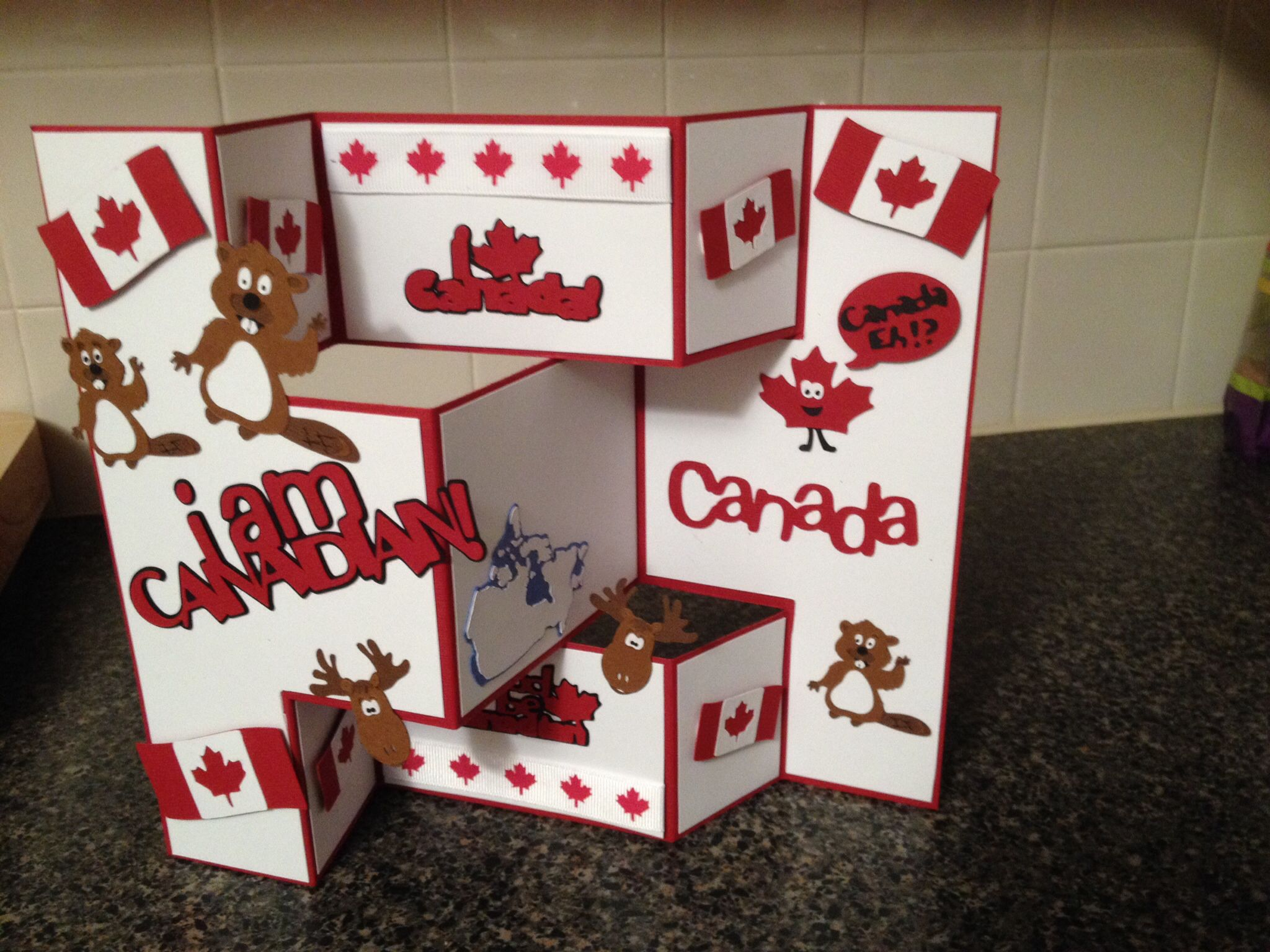Canadian card birthday cards paper crafts cards