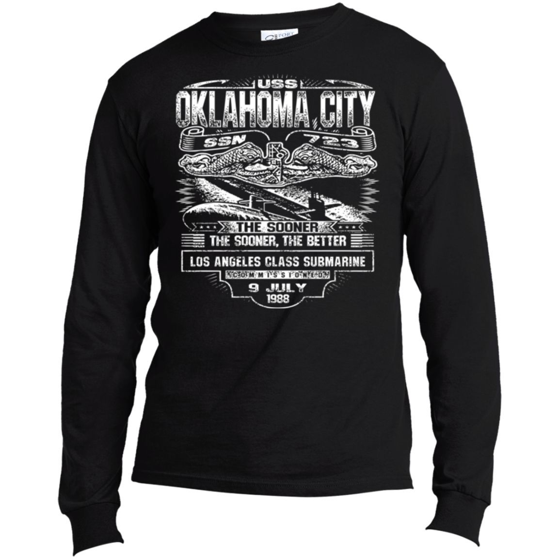 USS OKLAHOMA CITY SSN 723 T Shirts and Hoodies Alabama