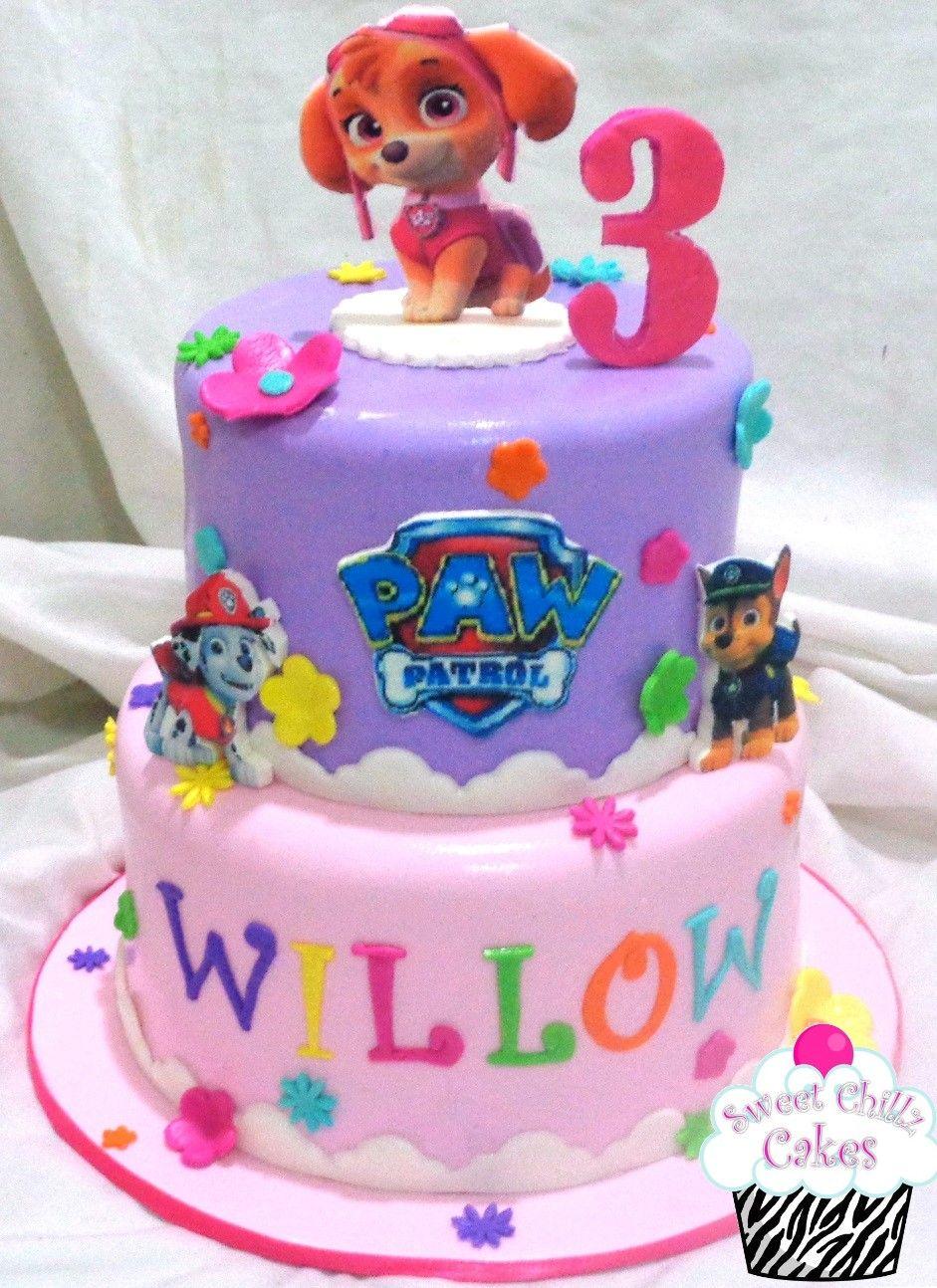 Skye Paw Patrol Cake | Cakes in 2019 | Girls paw patrol cake, Paw ...
