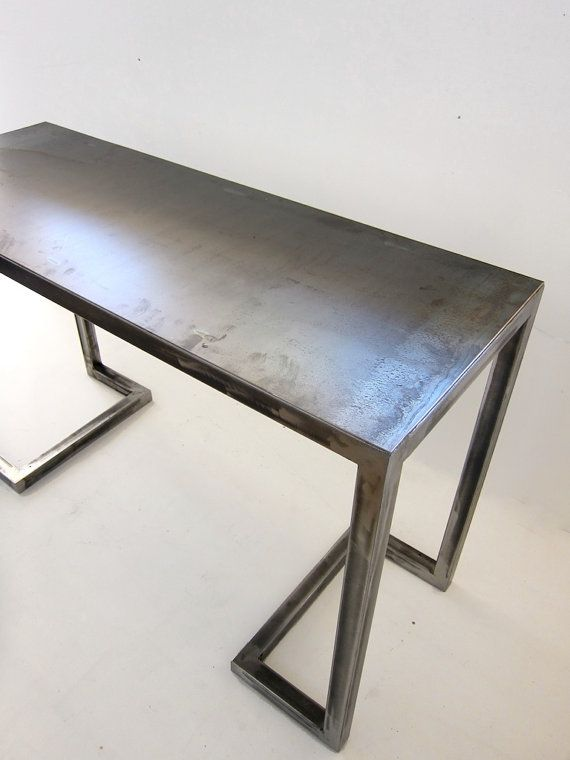Alexander Desk Console All Metal Frame Table Or Desk