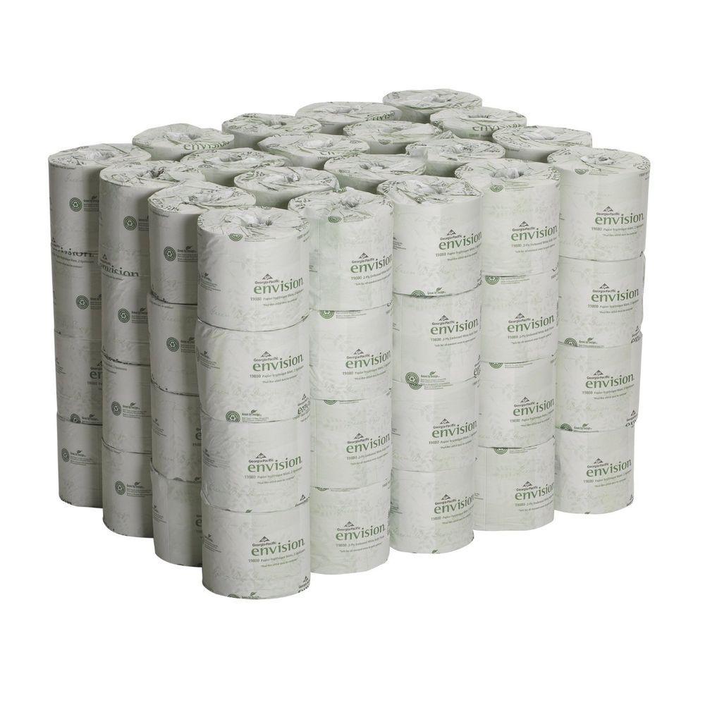 Toilet Paper Rolls Bath Tissue 80 Rolls Bulk 2 Ply Office Bathroom Mesmerizing Bathroom Tissue 2018