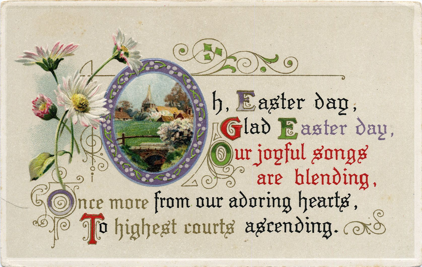 Medium Of Easter Card Messages