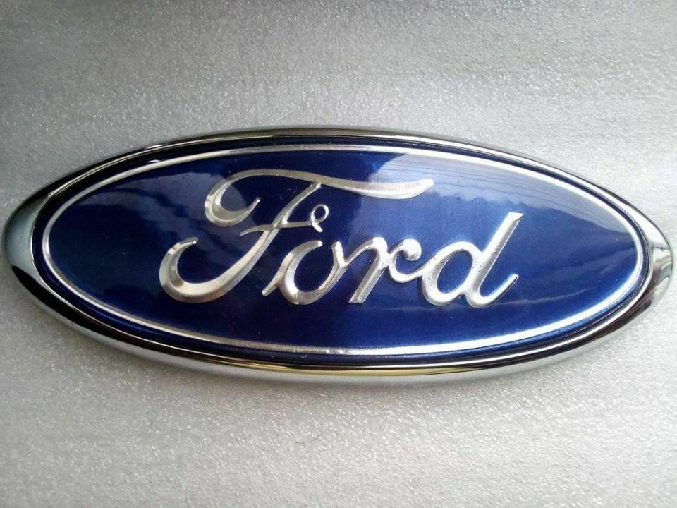 Ford Sierra Mk1 Front Grill Ford Oval Bagde Emblem Logo Light Blue