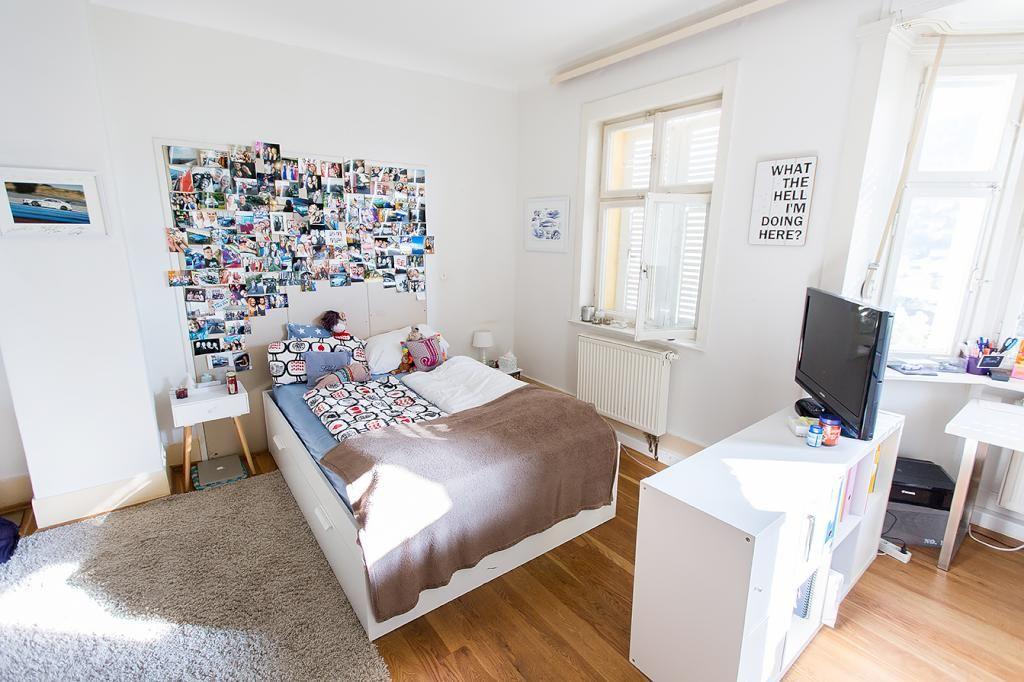 Zimmereinrichtung  Superschöne WG-Zimmer-Einrichtung. #WG #sonnig | Ideen fürs WG ...