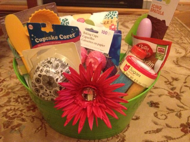 Baby Shower Gift Prize Ideas : Confetti cake batter cookies baking gift baskets