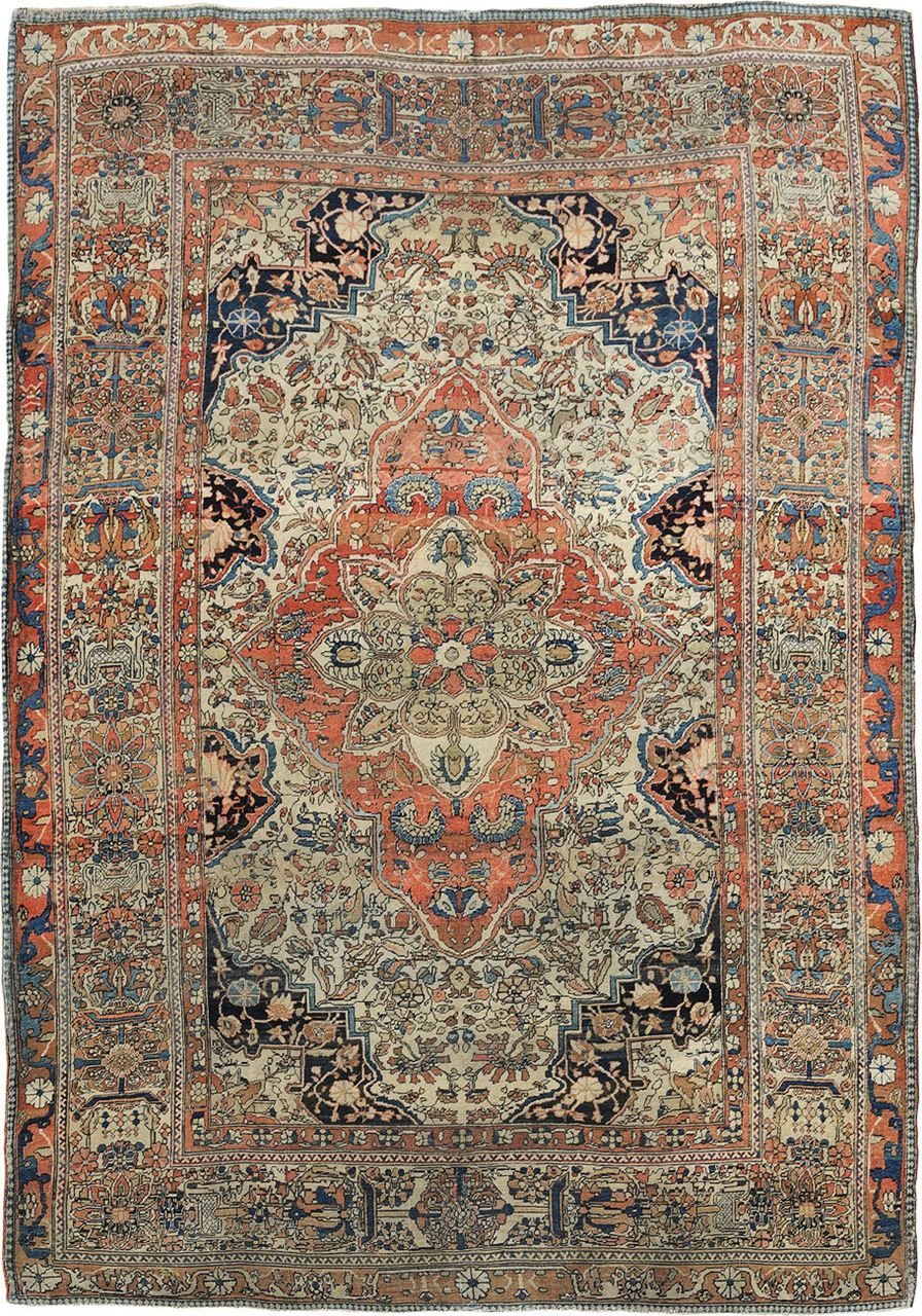 Antique Mohtashem Rugs On Carpet Rugs Antique Rugs