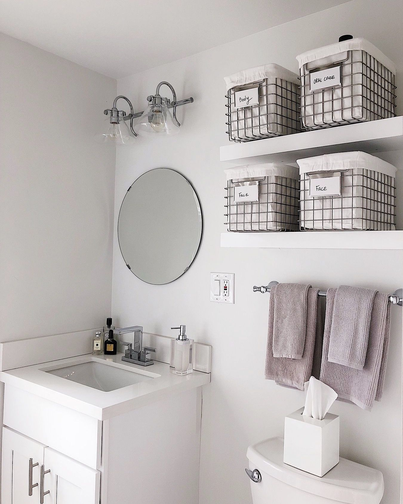 NEAT Method  Luxury Home Organizing  Small bathroom organization