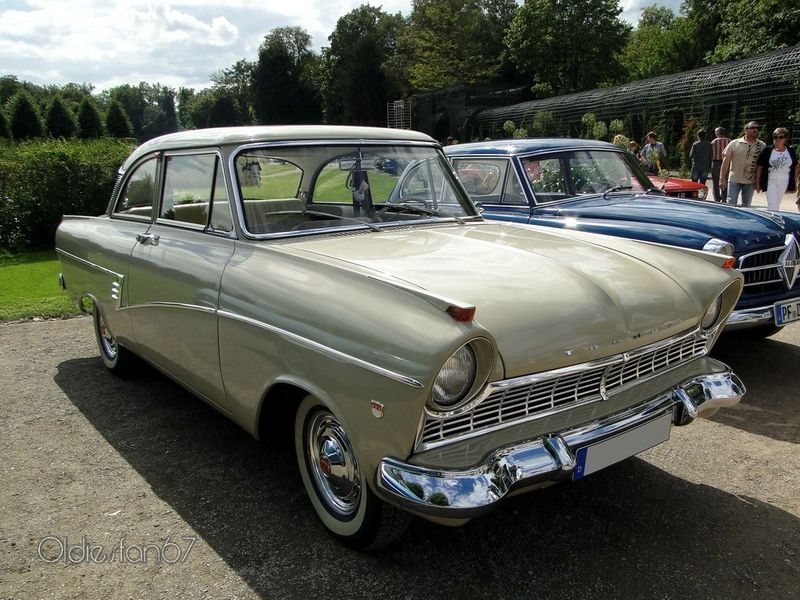ford taunus 17m p2 de luxe coupe 1960 a ford europa. Black Bedroom Furniture Sets. Home Design Ideas