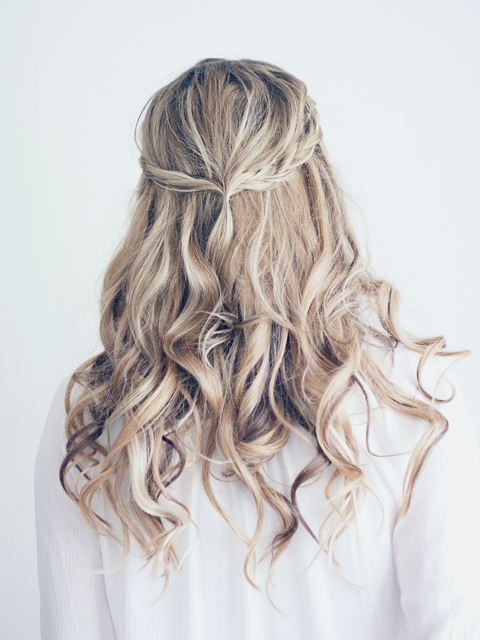 Half Up Half Down Braid Hair Styles Hair Inspiration