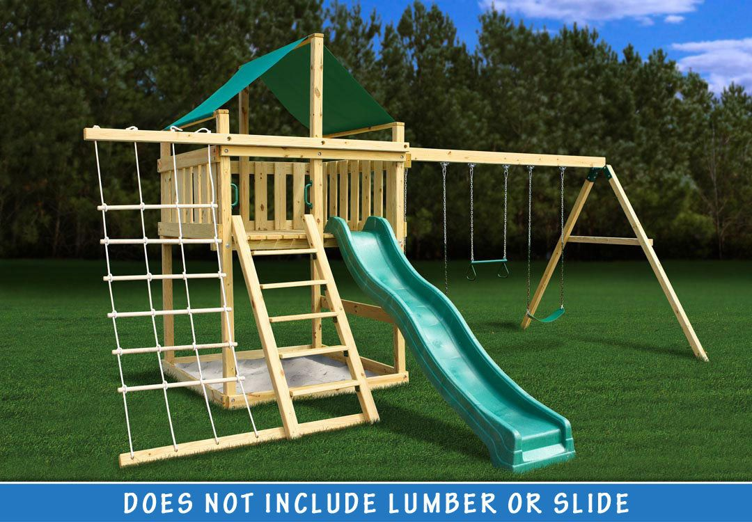 Eclipse Fort with Swing Set