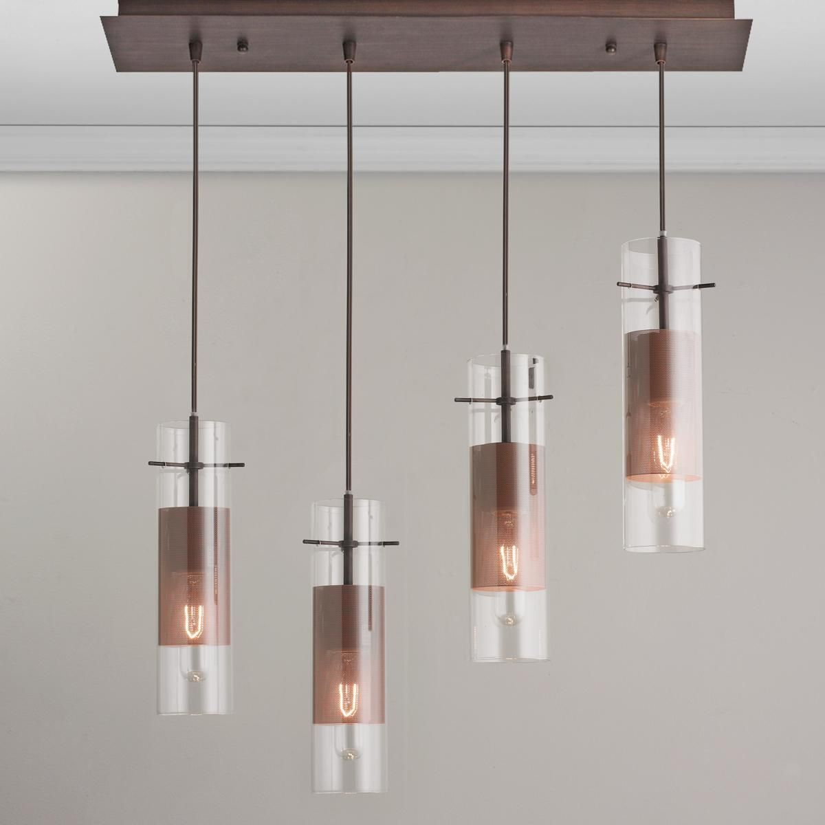 Mesh mini pendant lighting bar this sleek modern lighting bar is mesh mini pendant lighting bar this sleek modern lighting bar is ideal over a kitchen island aloadofball Image collections