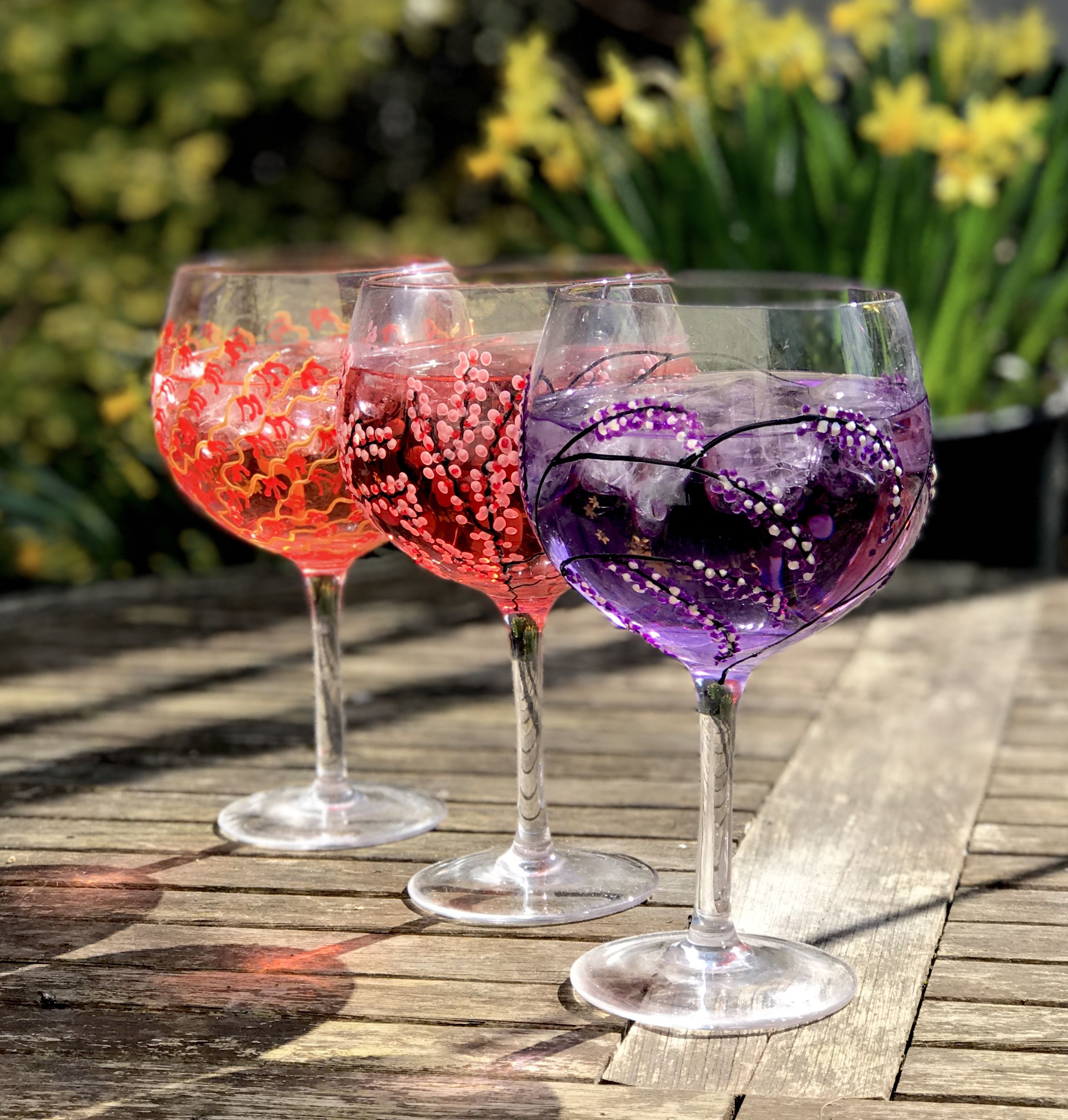 Check Out Our New Gin Glasses By Sunny By Sue Go To Our Website To See The Full Range Joedaviesgiftware Ginglasses Gla Glass Collection Glass Gin Glasses