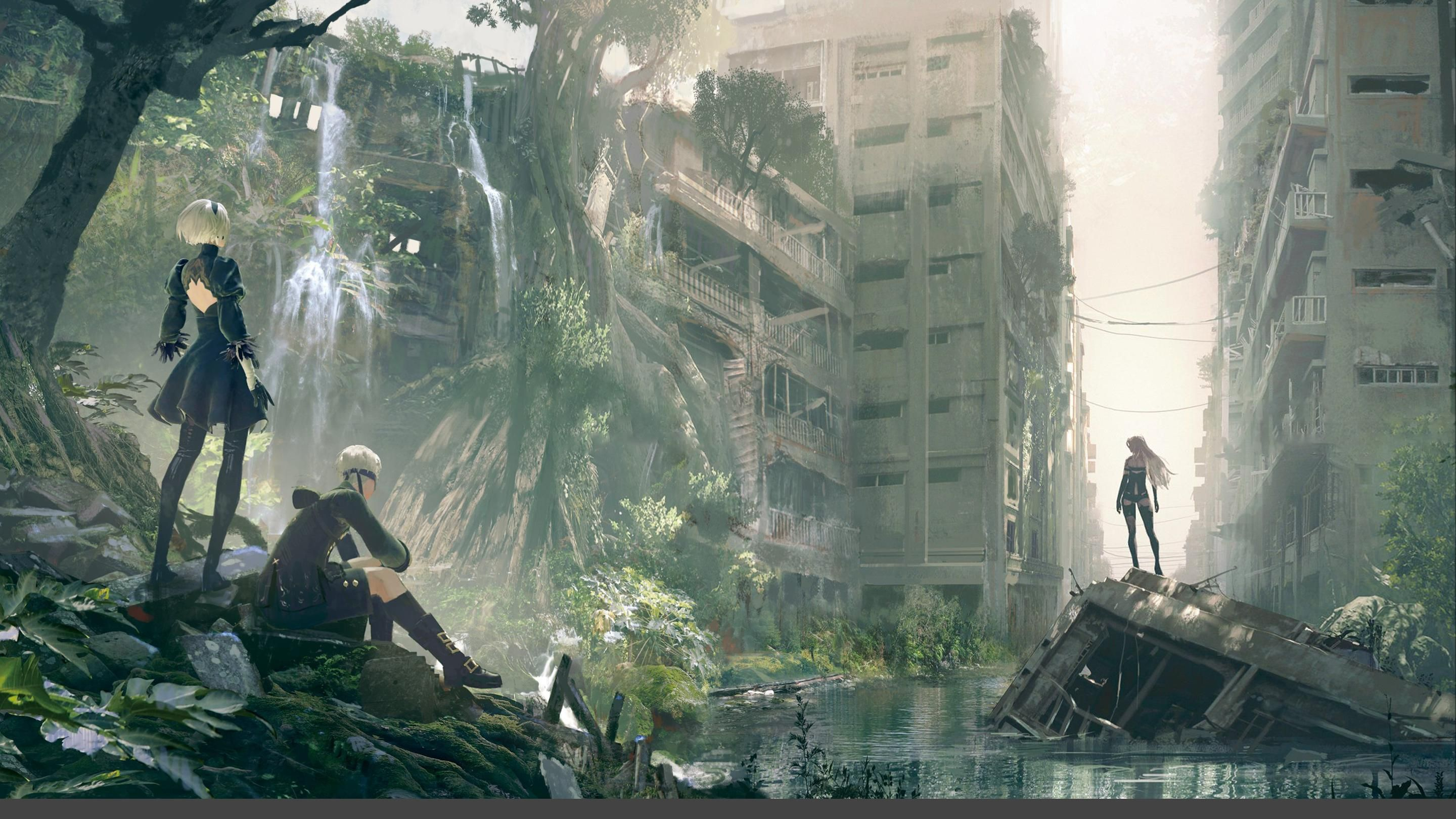 Soundtrack Cover Background Modified For 1080p Wallpaper Nier