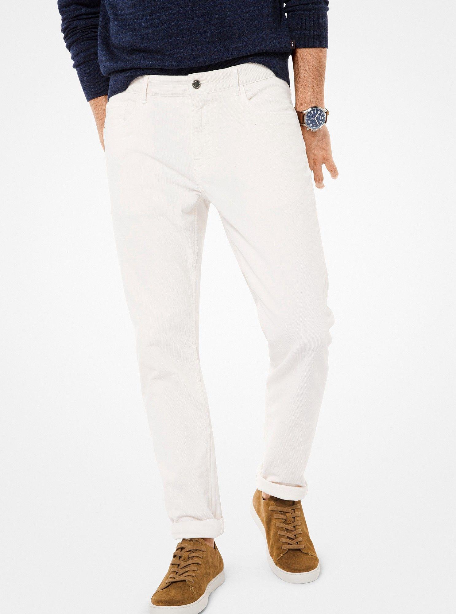 8c3ba683414bdb Michael Kors Parker Slim-Fit Corduroy Pants - Fig Purple 28X30 ...
